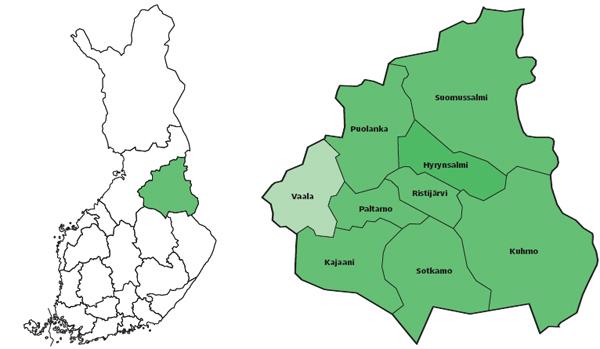 Maakunta Kartta