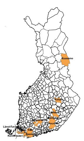 kesämökkejä suomessa Uusikaupunki