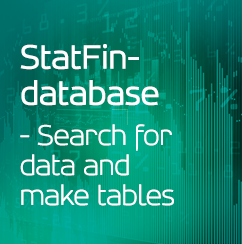 StatFin-database - Search for data and make tables